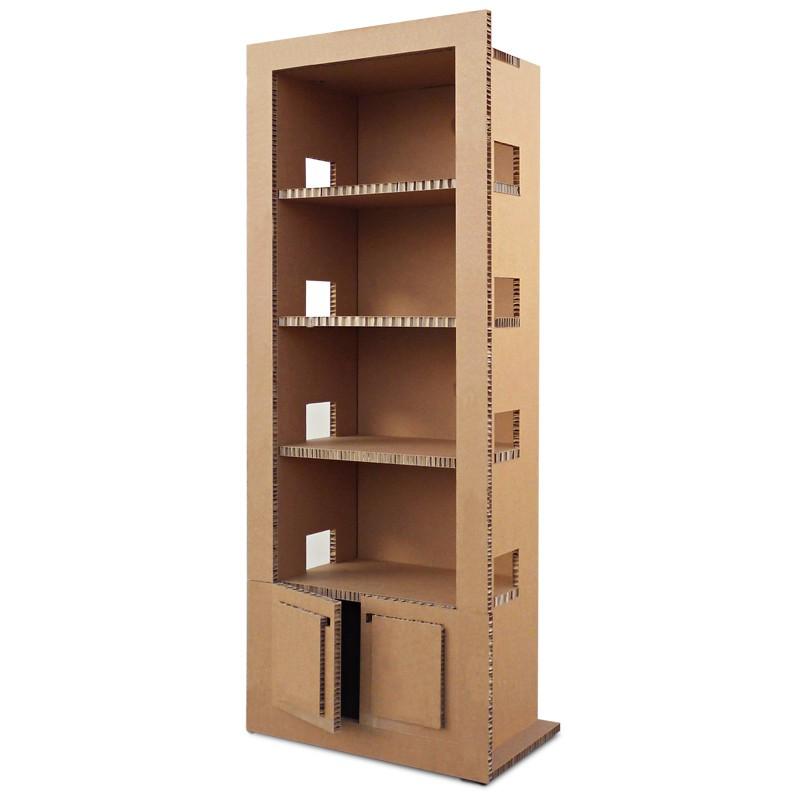 Libreria in cartone RETRO\' avana