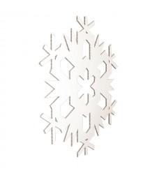 FIOCCO 1, decoro natalizio bianco