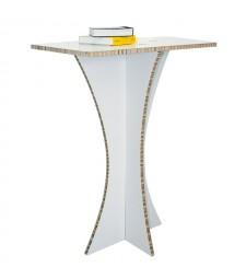Tavolino in cartone da bar COCKTAIL Bianco