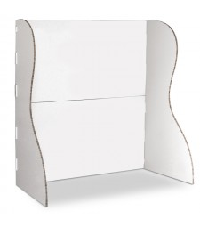 Stand MODULARE in cartone bianco