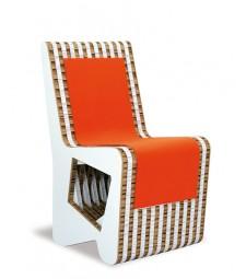Sedia in cartone RITMICA